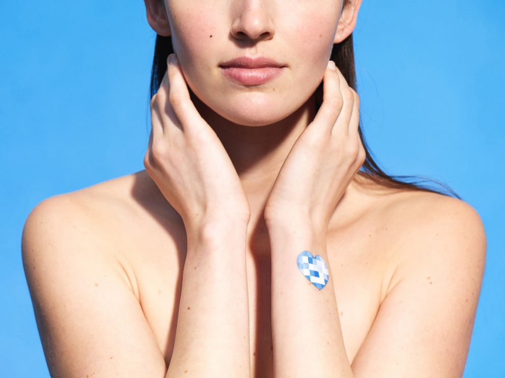 Cosmetic company LOreal has developed a UV sticker that they say will help people be aware of sun exposure.