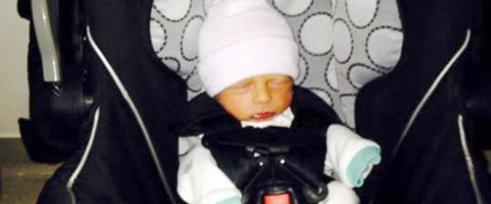 PHOTO: Baby West Nathaniel Landes went home from the hospital on May 26, 2014.
