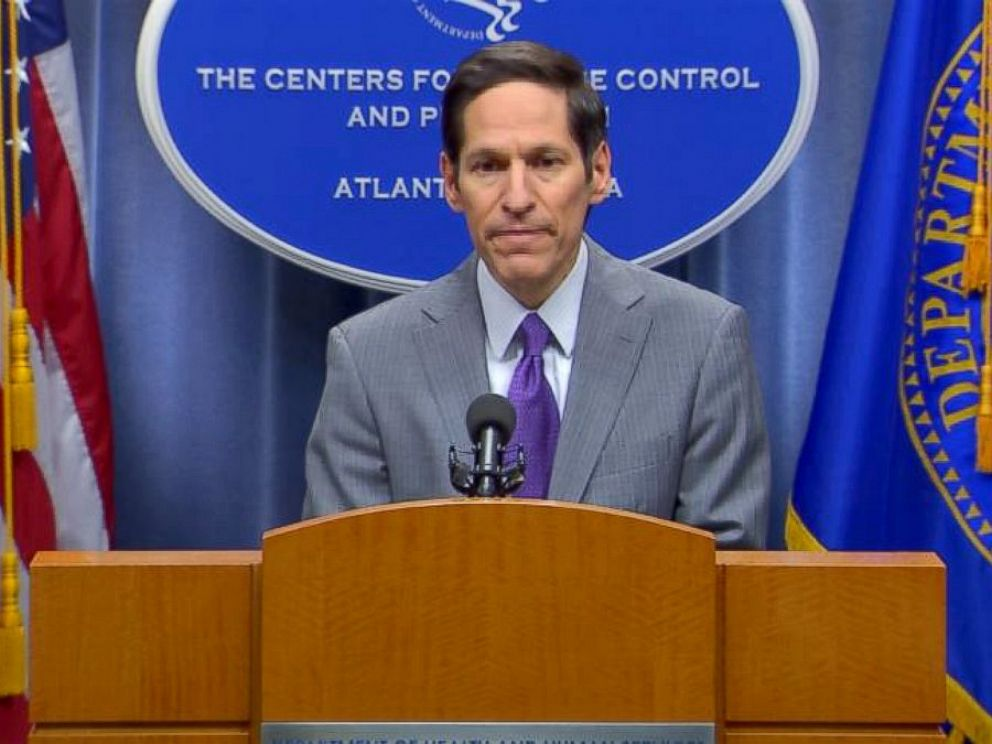 PHOTO: CDC Director Tom Frieden holds a press conference on a recent Ebola case found in the United States, Sept. 30, 2014, in Atlanta.