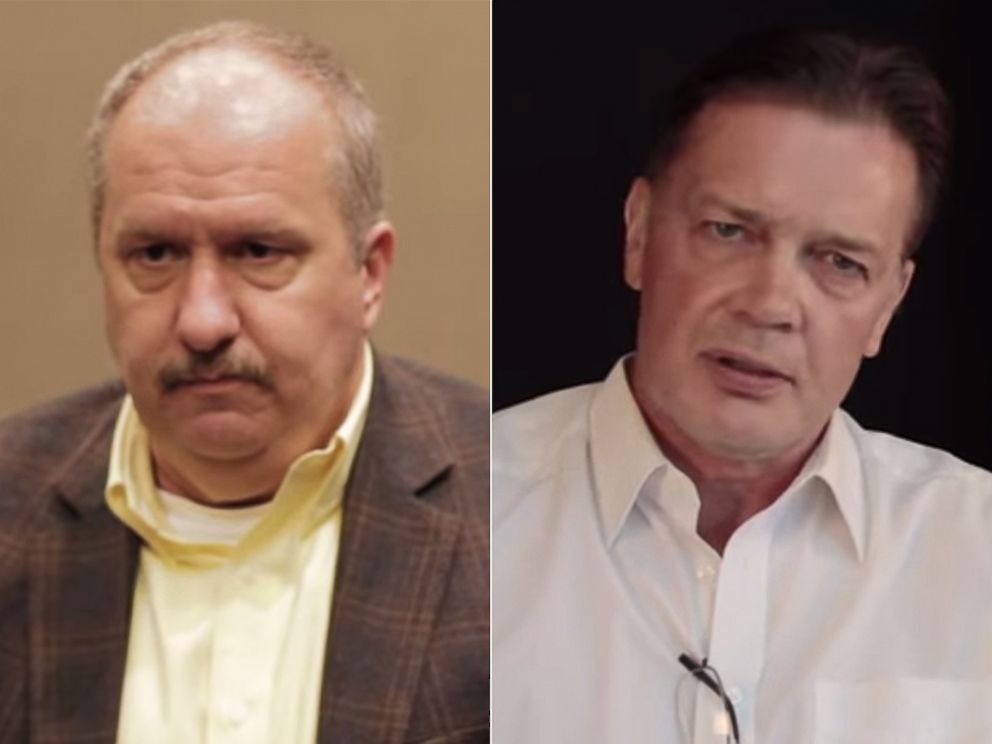 PHOTO: Brian Hooker, left, appears in a film about how he conducted a now-unpublished study linking autism and the MMR vaccine. Andrew Wakefield, right, famous for his own fraudulent autism and MMR study, directed the film.