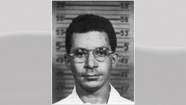 PHOTO: Louis Slotins Los Alamos badge mugshot