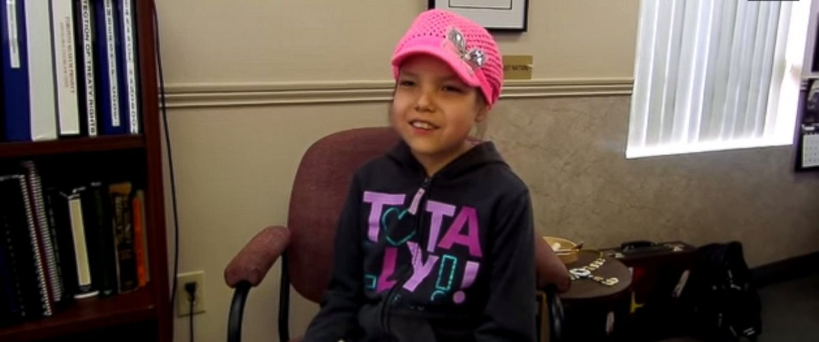 "PHOTO: Makayla Sault, 11, appears in this video posted to YouTube on May 13, 2014 titled, ""Ojibwe child refuses chemo, wants traditional medicine instead."""