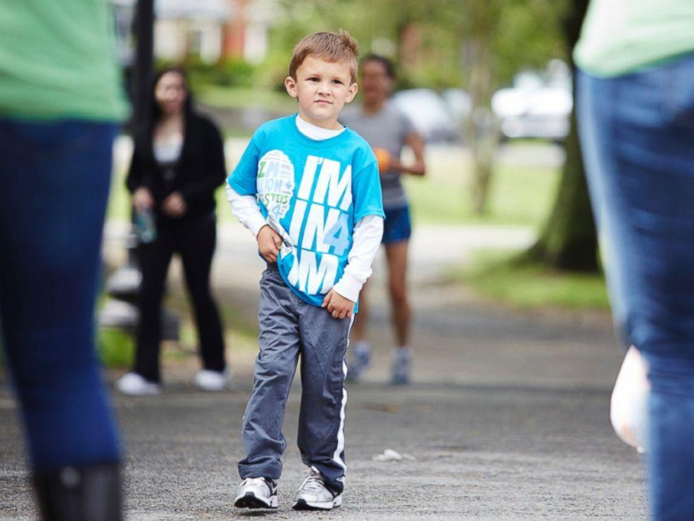 PHOTO: Cameron Lucas will lead the 1 Million Steps 4 OCD Walk in Boston.