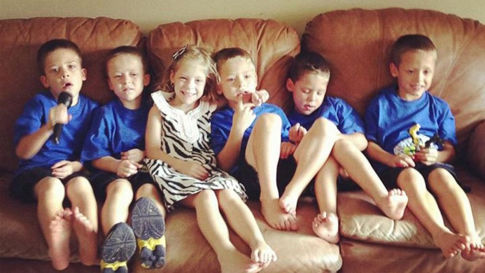 Sextuplets Celebrate 6th Birthday, Go Back to School - ABC ...