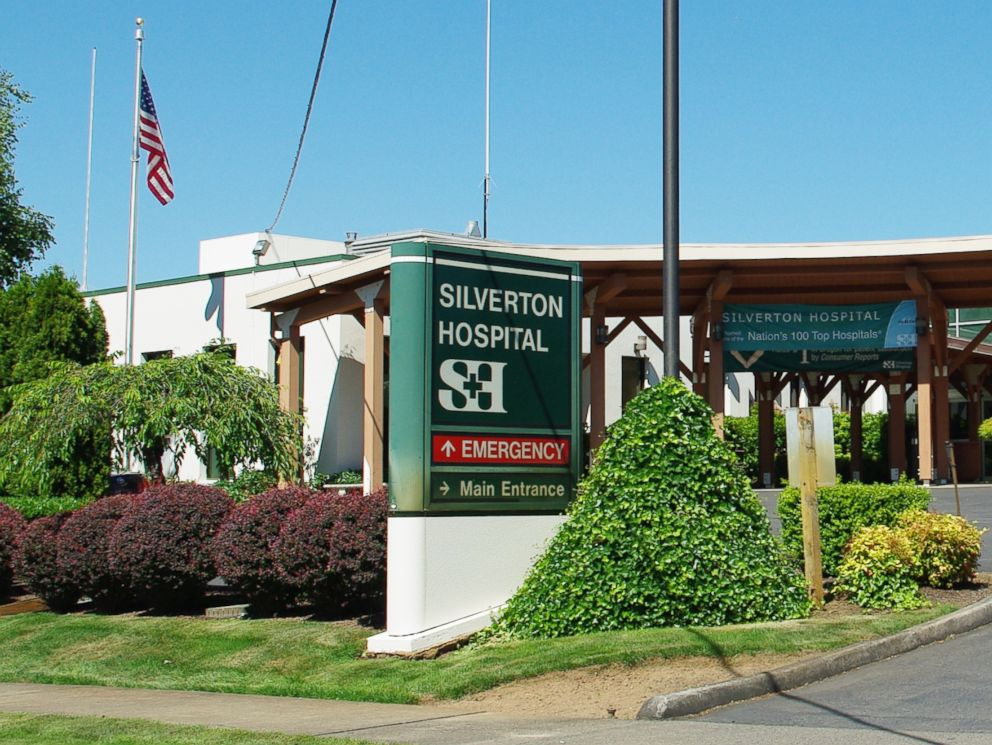 PHOTO: Silverton Hospital entrance in Silverton, Ore.