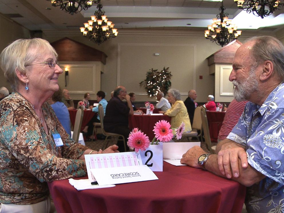 PHOTO: The Age of Love follows 30 seniors as they try out speed dating.