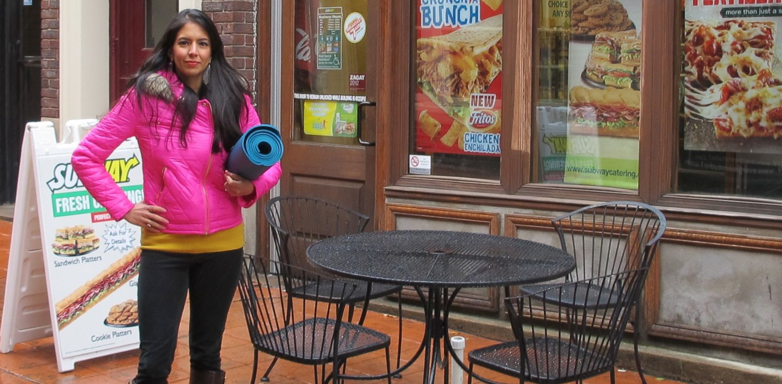 """PHOTO: Vani Hari, the """"food babe"""" blogger, is petitioning Subway to take a plastic chemical out of its bread."""