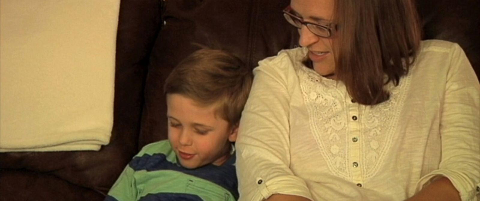 PHOTO: Kerri Evensen, a Wisconsin mother, was stunned to learn that she had an aneurysm after she offered to donate a portion of her liver to her son.