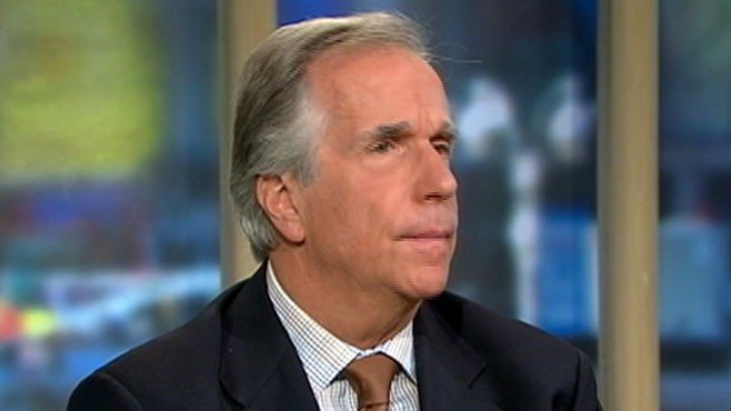VIDEO: Henry Winkler raises awareness for a condition affecting close to 1 mil people.
