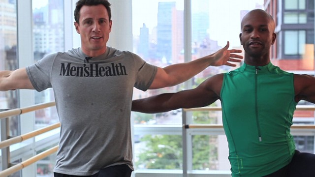 VIDEO: ABC News Chris Cuomo gets a lesson in extreme fitness from a ballet instructor.