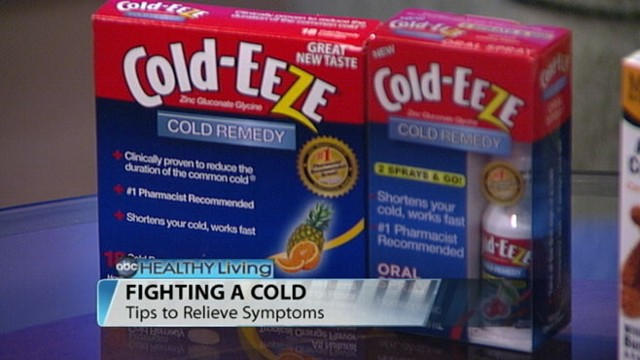 VIDEO: Dr. Yael Halaas with tips on relieving cold and flu symptoms.