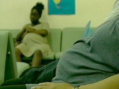 VIDEO: An overweight stomach.