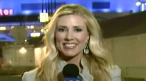 PHOTO Los Angeles based reporter, Serene Branson suffered a stroke on live television while broadcasting her report from the Grammys red carpet.