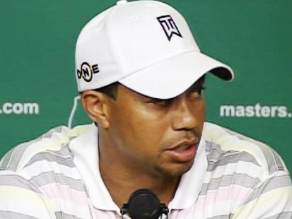 Video: Tiger Woods addresses the press regarding his sex scandal.