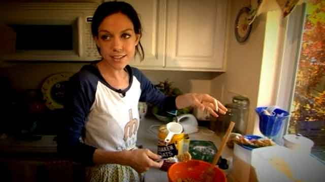 PHOTO: Camilla Kuhns is a 29-year-old anorexic with a penchant for baking.