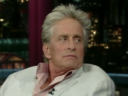 VIDEO: Actor Michael Douglas reveals to David Letterman that hes battling stage 4 throat cancer.