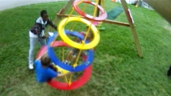 Video: Man says special swing can help kids with autism.