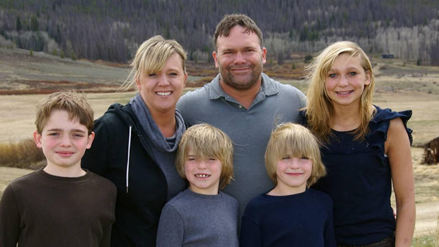 PHOTO: Betsy Degree, seen here with her family, started taking Adderall to keep up with the demands of being a mother of four.