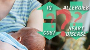 Photo: Are Some Breastfeeding Claims Overblown? Mathematicians, Moms Question if Every Breastfeeding Benefit Claim Holds Water