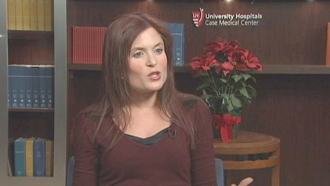 VIDEO: UH Case Medical Center?s Lisa Cimperman shares weight loss tips.