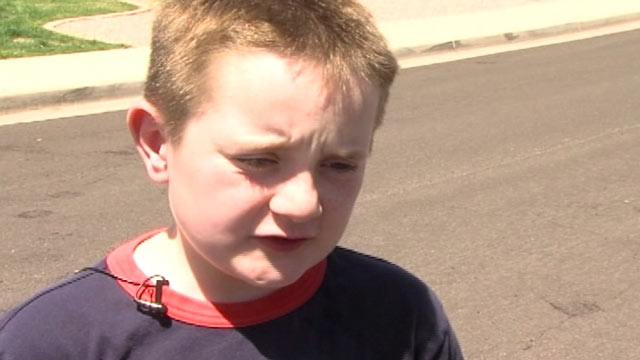 PHOTO:Tristin Saghin saved his baby sister by performing CPR after she fell into their grandmothers swimming pool.