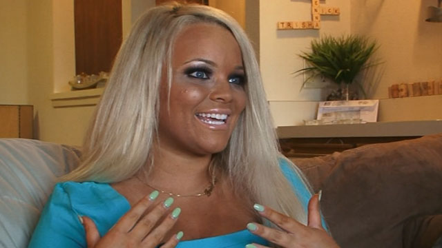 PHOTO: Trisha Paytas hasnt missed a day of tanning in 10 years.