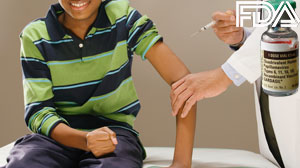 FDA approval of the HPV vaccine for boys