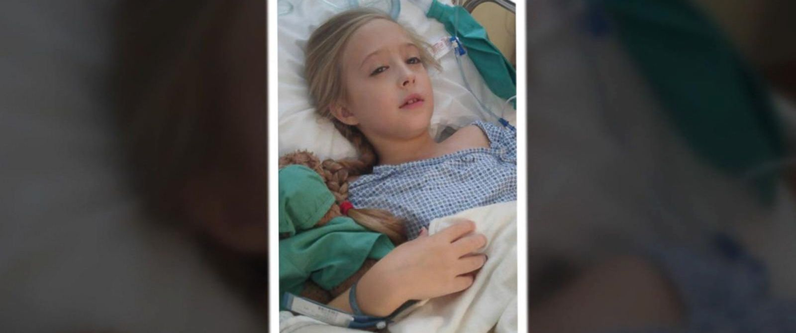 Eight-Year-Old Girl With Rare Breast Cancer Has Mastectomy ...