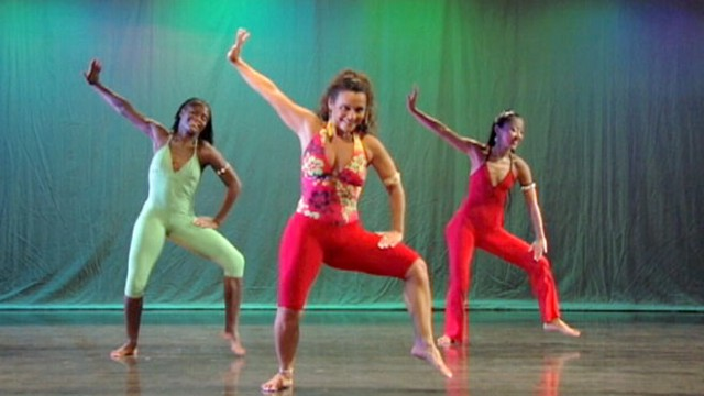 VIDEO: High energy dance moves for a strong cardio workout.