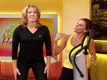VIDEO: Courtney Coxs cougar workout