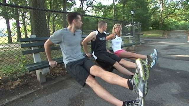 VIDEO: Burn calories and get fit quick with these simple moves.