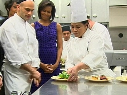 VIDEO: Food Comes First in the White House