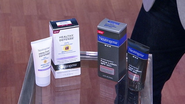 VIDEO: Surveying the top skin care products for men.