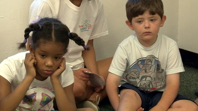 """PHOTO: At home, Jake Semmel, 6, and Maya, 7, are chatterboxes, but in public they freeze up. Child psychologist Dr. Steven Kurtz believes they might suffer from """"selective mutism."""""""