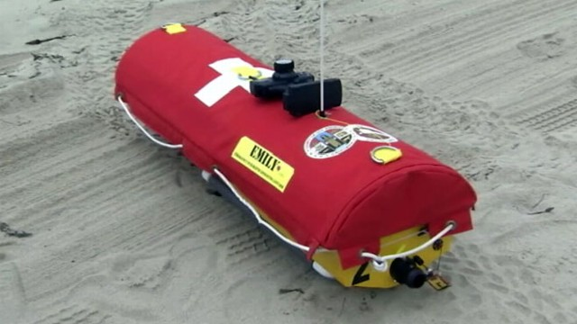 VIDEO: Robotic Lifeguard Named Emily Saves Swimmers
