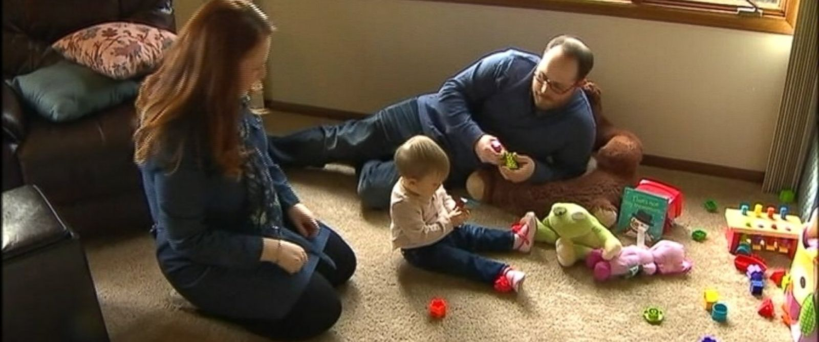 PHOTO: Embryo donation enabled the DeVore family to have their child, CJ.