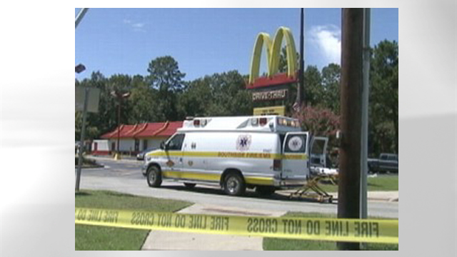 PHOTO:One woman died and nine others were sickened after breathing toxic fumes in the bathroom of a McDonalds restaurant in south Georgia.