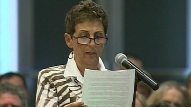 VIDEO: FDA hearing to determine whether breast cancer drug approval will be revoked.