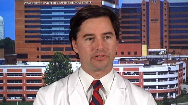 VIDEO: Wake Forest Baptist Medical Centers Dr. Allston Stubbs explains.