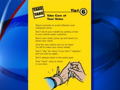 VIDEO: NYC Department of Health comes under fire for pamphlet on safer heroin use.