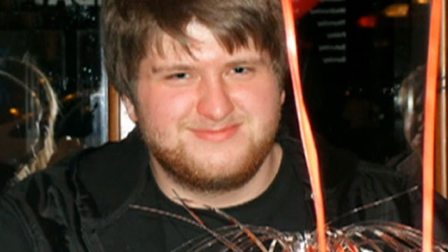 PHOTO:20-year-old Chris Staniforth from the UK was killed by a pulmonary embolism.