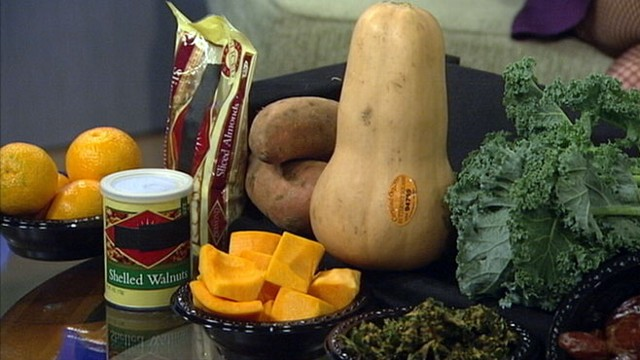 VIDEO: Kale and other foods packed with vitamins.