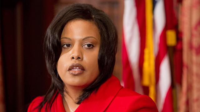 PHOTO: Baltimore Mayor Stephanie Rawlings-Blake