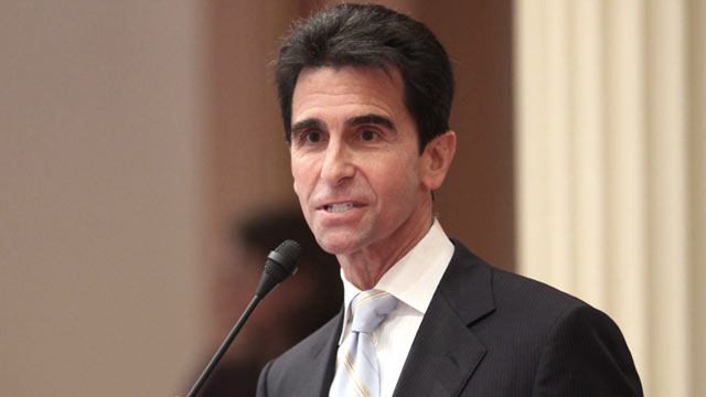 PHOTO: State Sen. Mark Leno, D-San Francisco, urged passage of his measure to create a government-run health care system in Sacramento, Calif., Jan. 28, 2010.