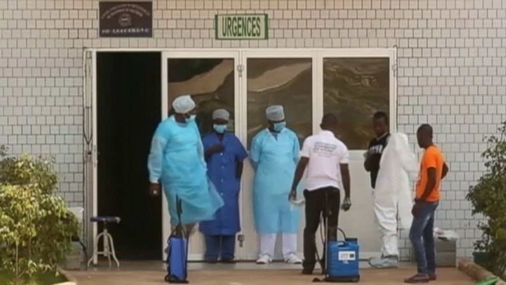 A total of four people in Liberia and Sierra Leone are thought to have contracted the Ebola virus.