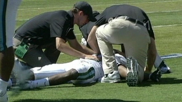VIDEO: Devon Walker underwent surgery after getting injured while making a tackle.