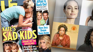 Celebrity names, US Weekly, Jolie, Oprah