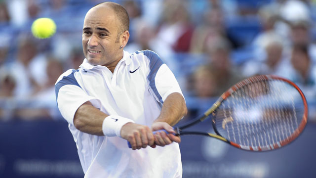 PHOTO: Andre Agassi