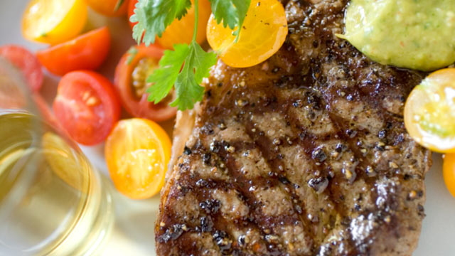 PHOTO: A low-carb steak dinner, like the one seen in this undated stock photo, may increase the risk of heart disease.
