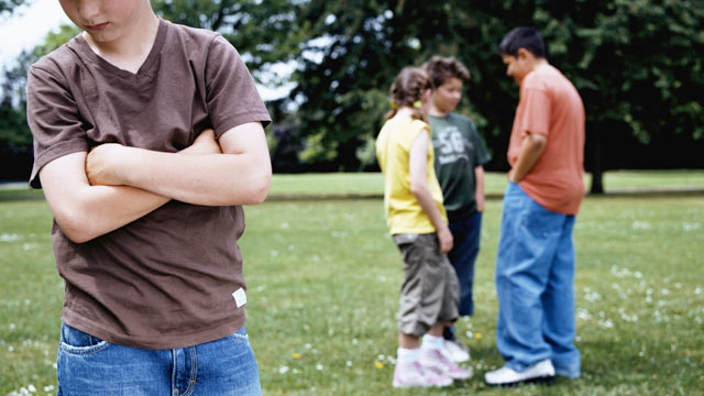 PHOTO: A new study suggests that children who bully are twice as likely to have a mental health disorder.